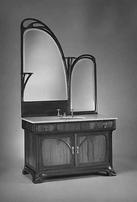 Dressing Table with Sink Louis Majorelle 1900-1910 Wonderful