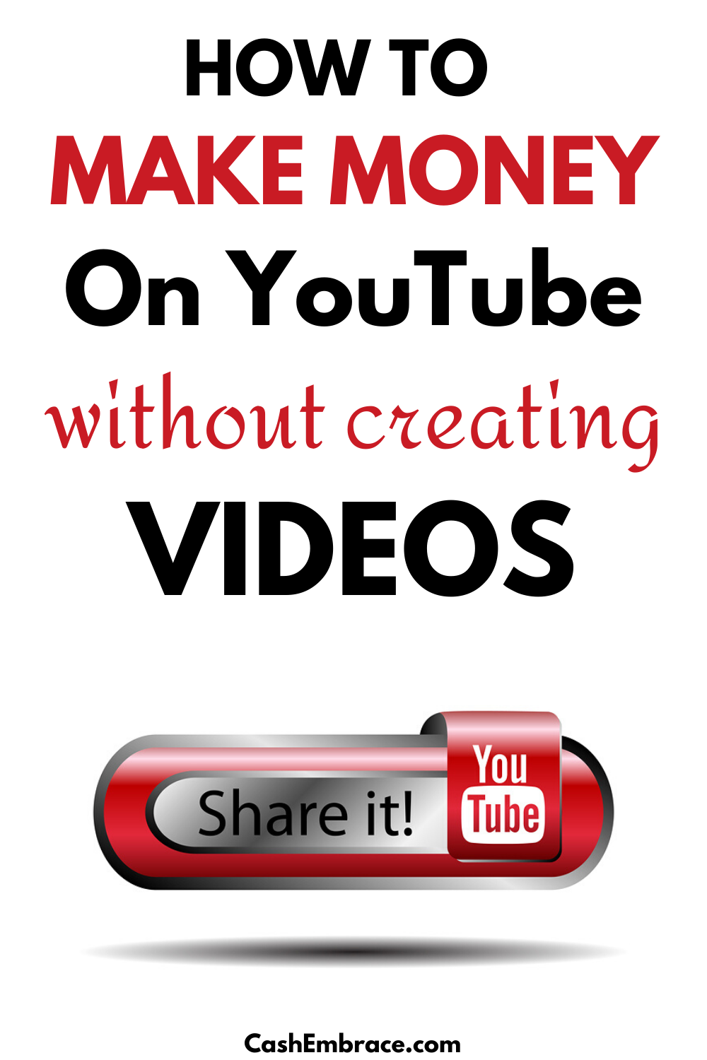 How To Get Money On Youtube Without Ads