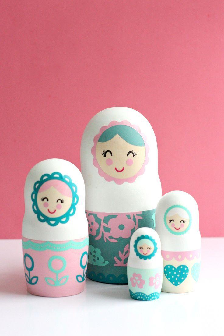Diy Nesting Dolls Craft Ideas Inspirations Matroschka