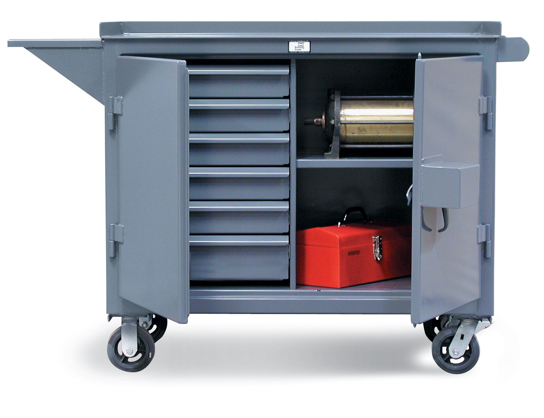 Strong Hold Products Tool Cart Locker Storage Industrial Storage