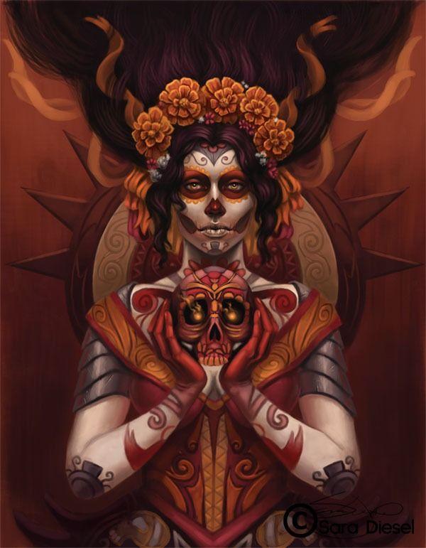 Day of the Dead by Sara K. Diesel skdiesel