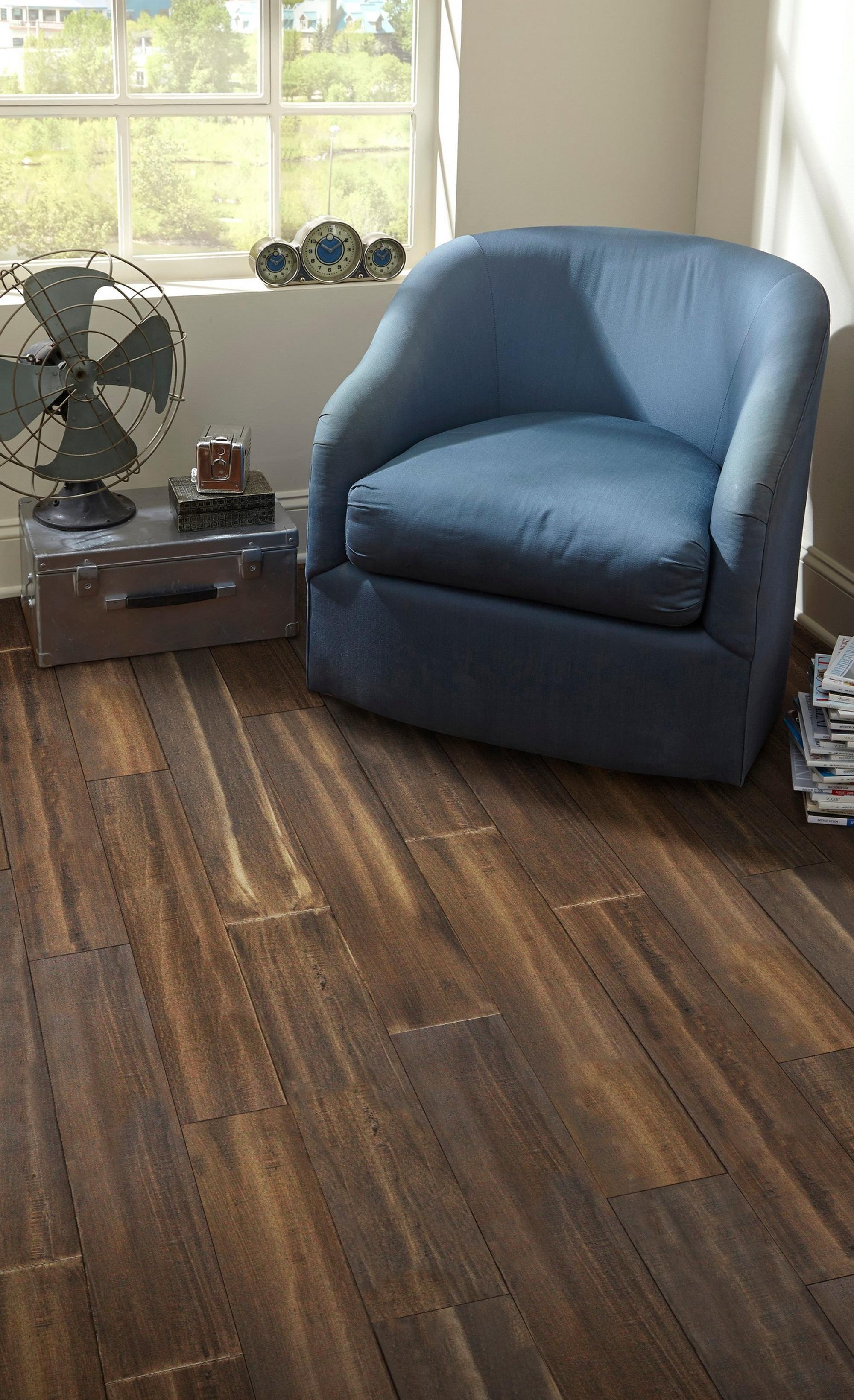 Morel Smooth Water Resistant Engineered Stranded Bamboo Bamboo Flooring Luxury Vinyl Plank Flooring Wood Floors Wide Plank