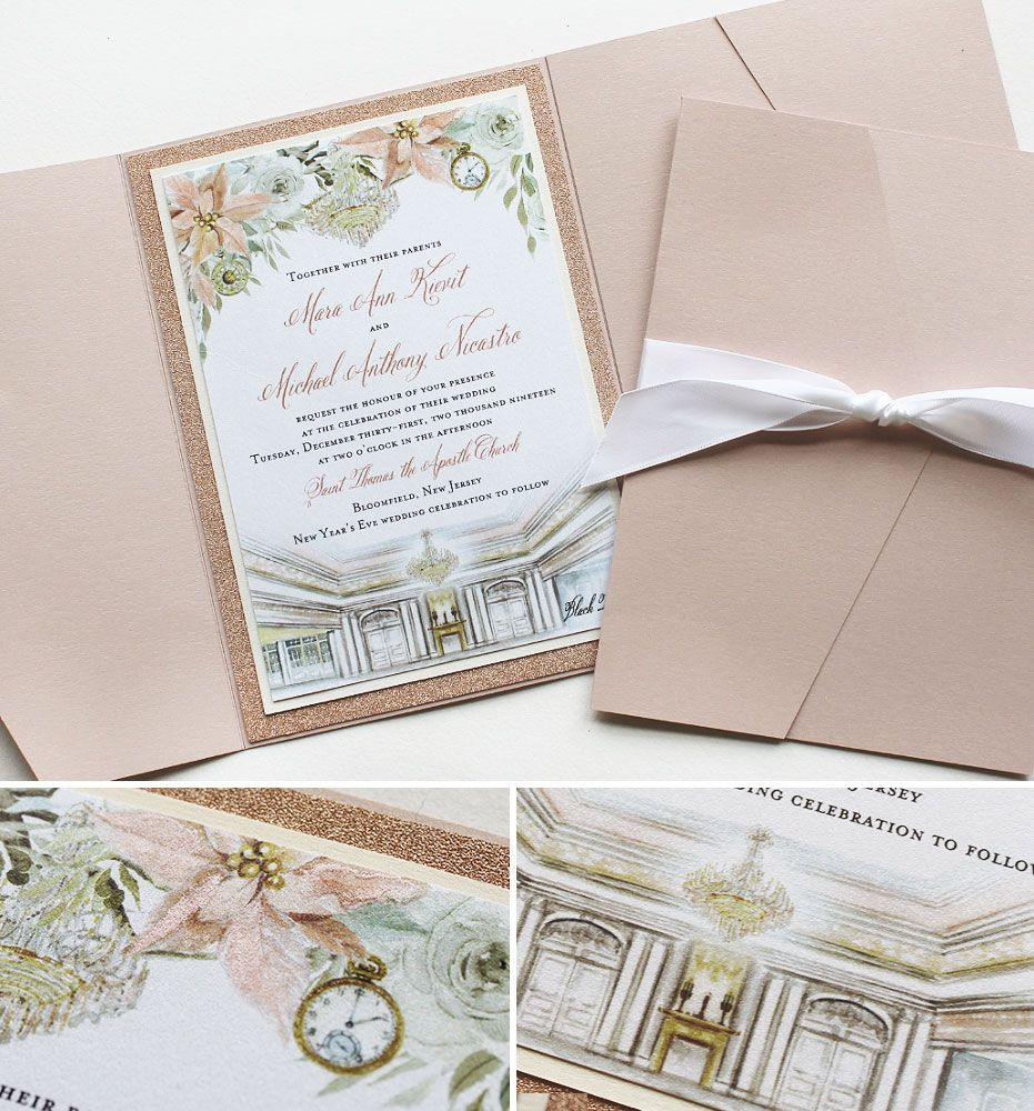 20++ New years eve wedding invitations ideas