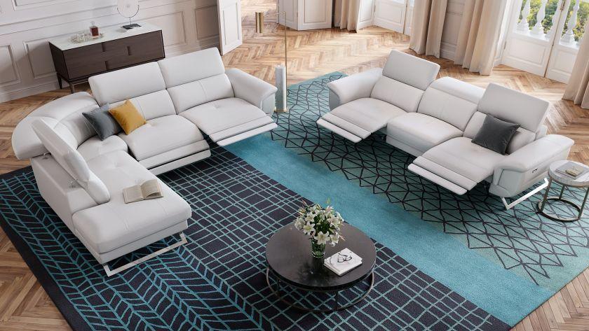 Das Designersofa 3 Sitzer Matrice Ist Eine Bequeme Couch Aus Leder Geniessen Sie Auf Dieser Wohnlandschaft Komfortable Stunden Sofa Design Wohnen Und Bequeme Couch