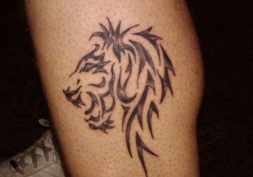 27 Stupendous Tribal Lion Tattoo Designs Creativefan Tribal Lion Tattoo Tribal Lion Lion Tattoo