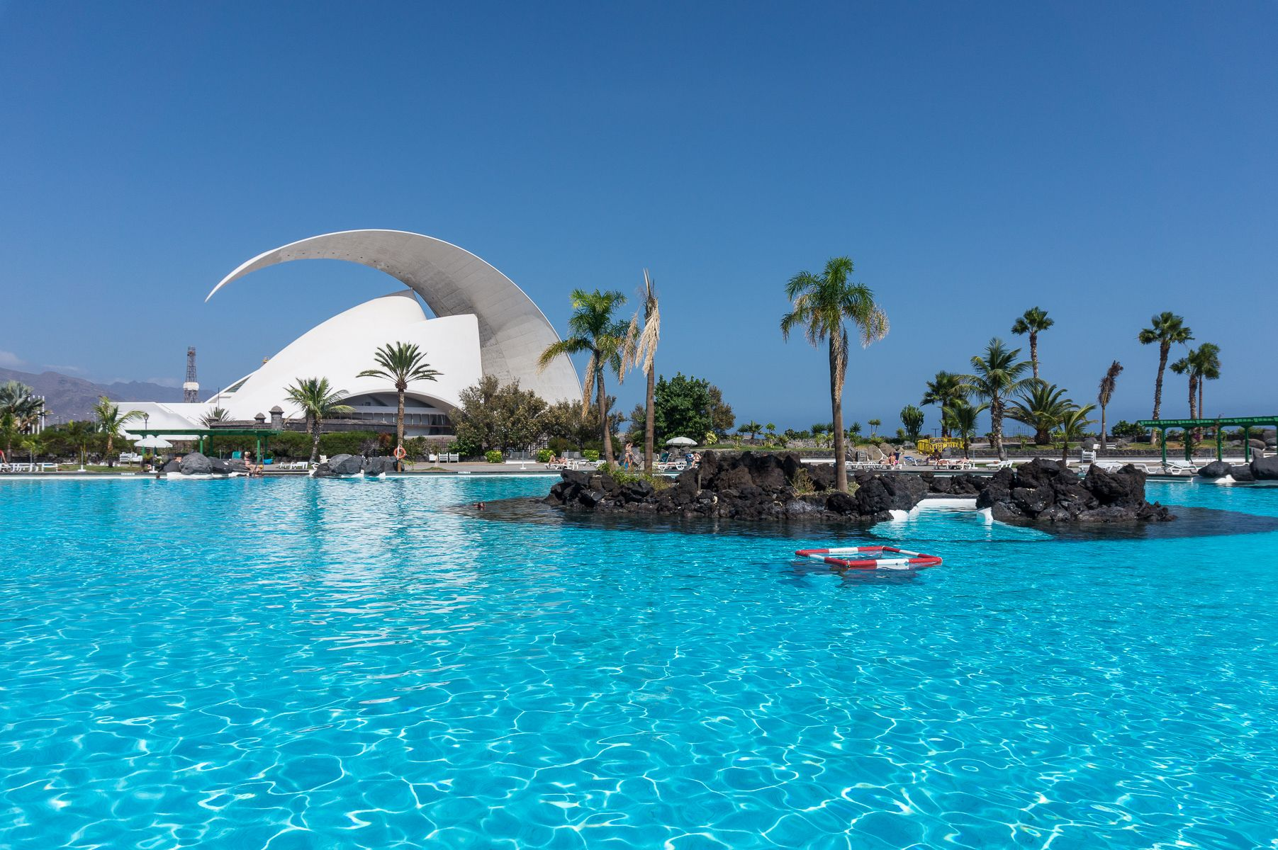 Parque Maritimo Cesar Manrique Santa Cruz De Tenerife Honeymoon Inspiration Tenerife Canary Islands