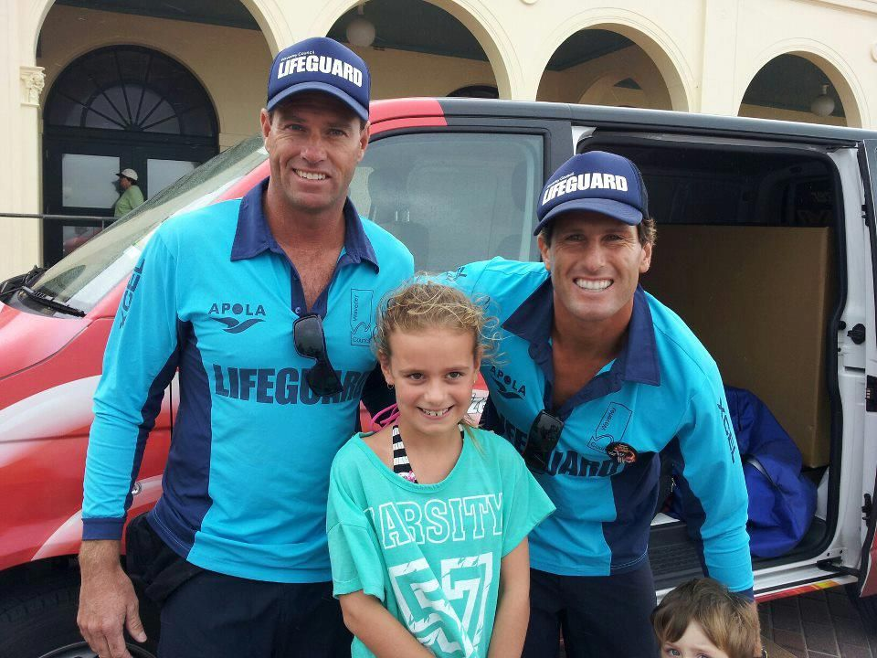 HOPPO, HARRIS AND SOME KID Beach lifeguard, Lifeguard