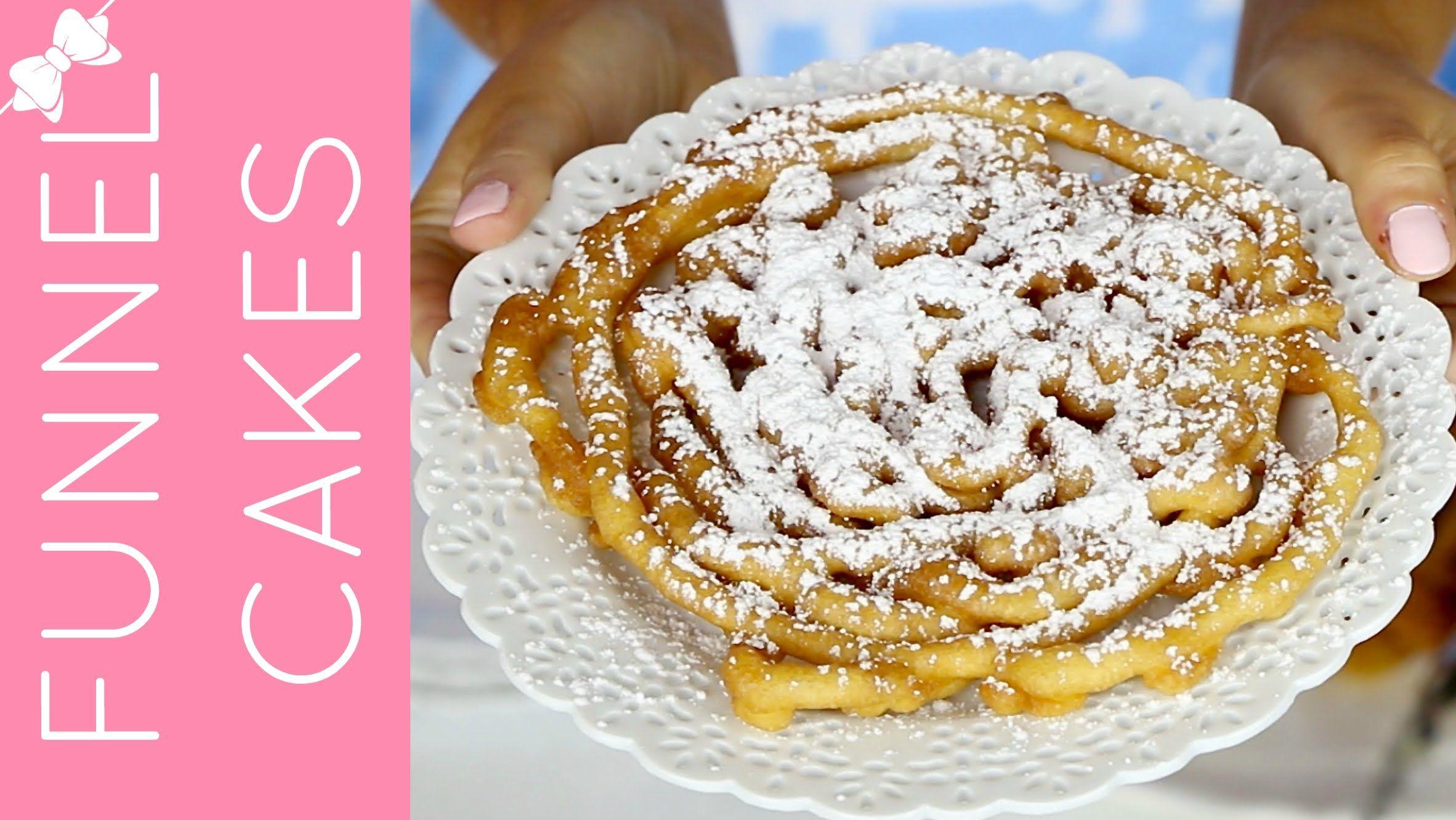 Easy pancake mix funnel cakes pancake mix funnel cake