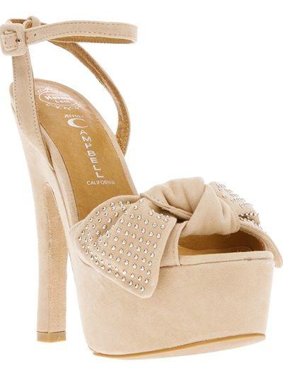 JEFFREY CAMPBELL - peep-toe sandal 6