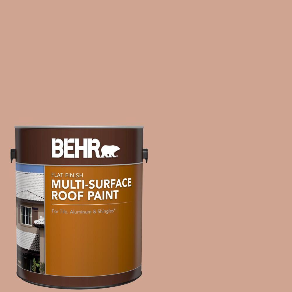 Best Behr 1 Gal Rp 22 Antique Adobe Flat Multi Surface 400 x 300