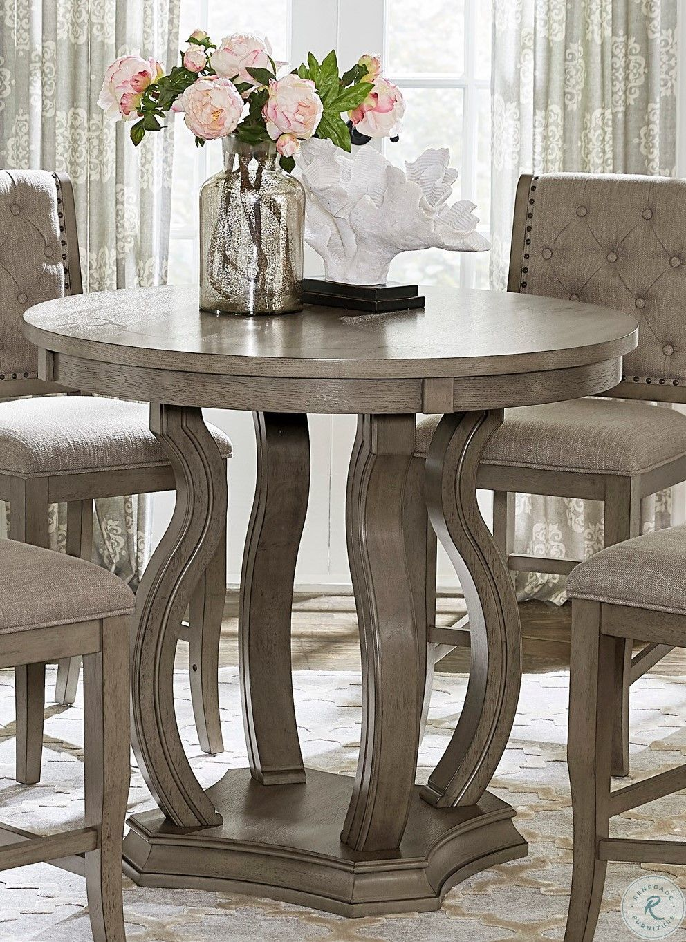 Dovetail Merak Round Dining Table Dining Table 60 Round Dining Table Round Dining Table