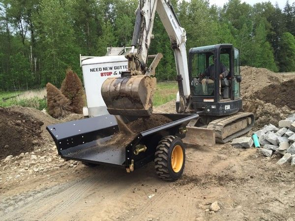 tipper trailer for excavator - The British Construction Equipment Forum
