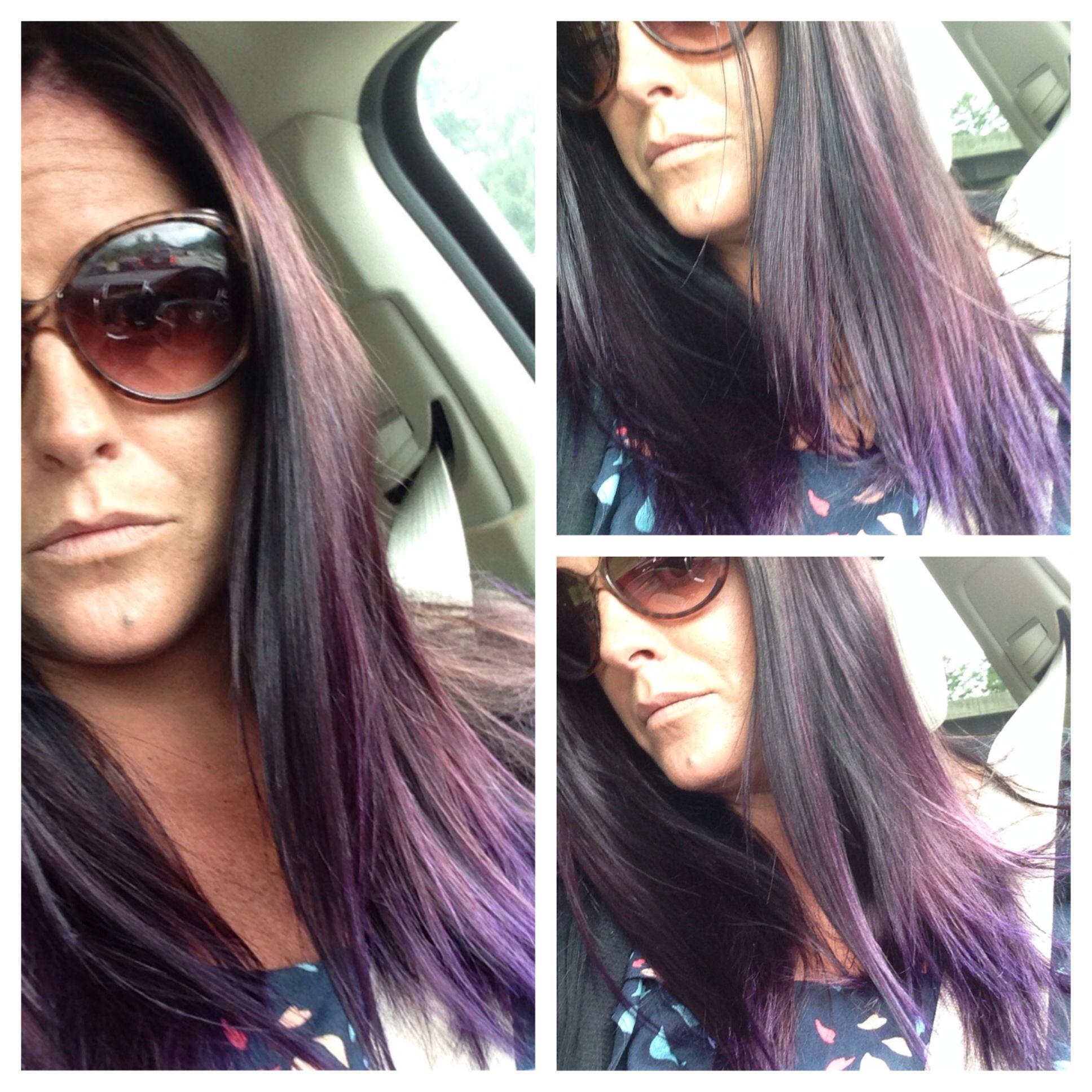 Purple ombré hair styles pinterest hair style