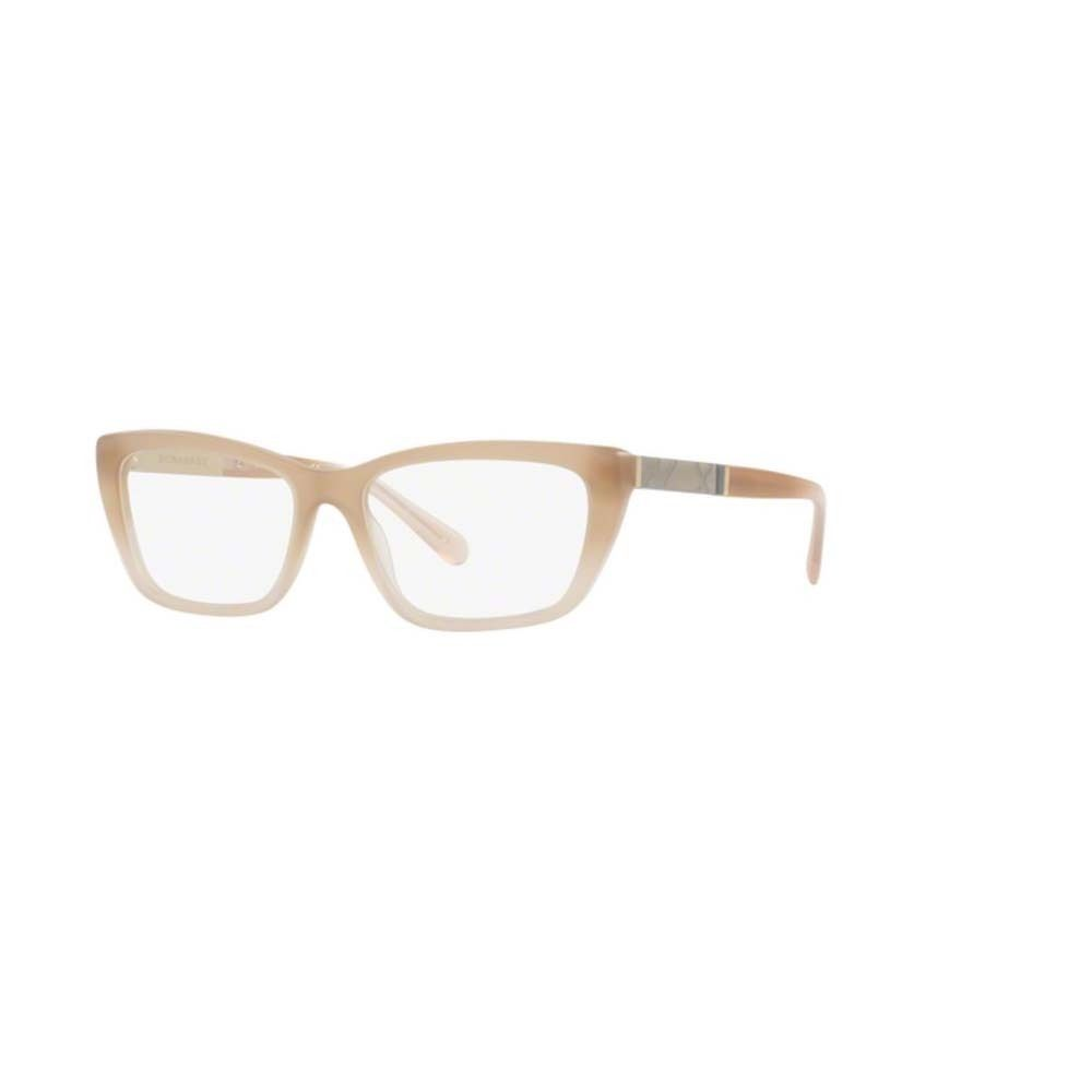 3fb2b19032 Burberry BE2236 3574 Matte Beige Gradient Cat Eye Eyeglasses w  52mm Lens