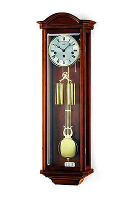 AMS 2672/1 Wall Clock Walnut Pendulum Clock