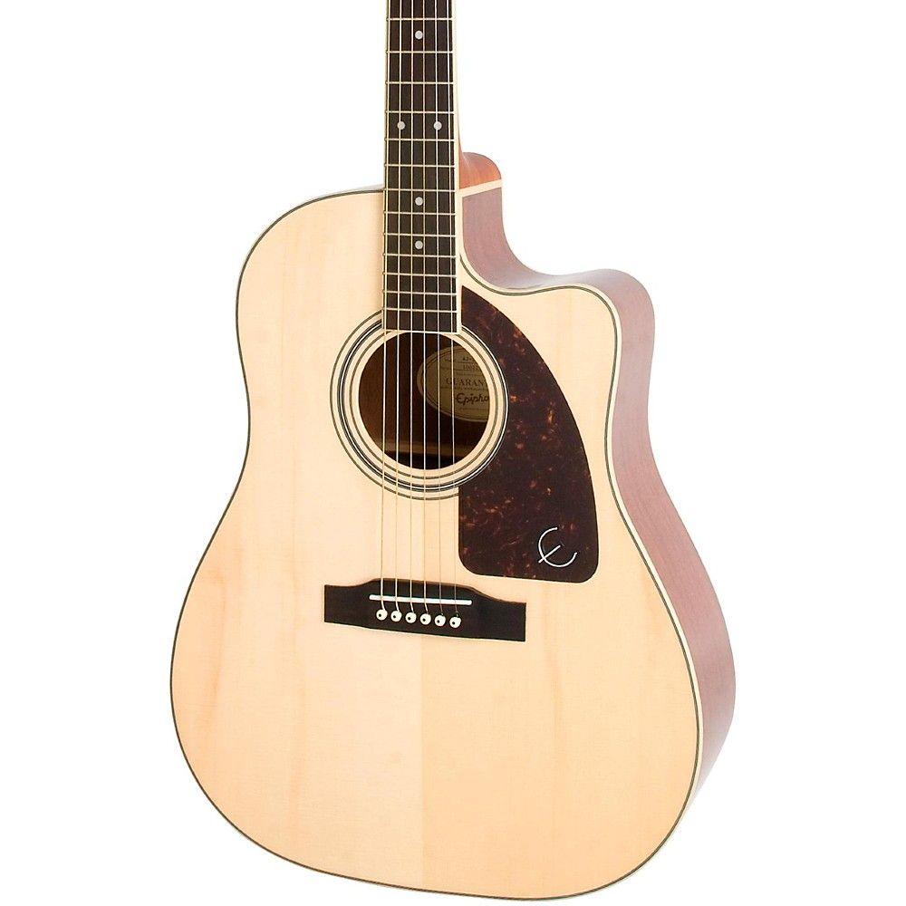Epiphone Aj 220sce Acoustic Electric Guitar Acoustic Guitar Music Electro Acoustic Guitar Acoustic Electric Guitar