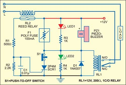 The Given Poly Fuse Application Based Electronic Fuse Circuit Is Re Settable And Helps In Regulating The Power Supply Electronics Basics Electronics Circuit