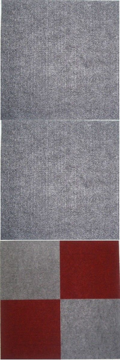 Wall To Wall Carpeting 175820 Square 12 Inch Grey Carpet Tiles 240 Square Feet Buy It Now Only 246 49 On Ebay Carpet Tiles Grey Carpet Wall Carpet