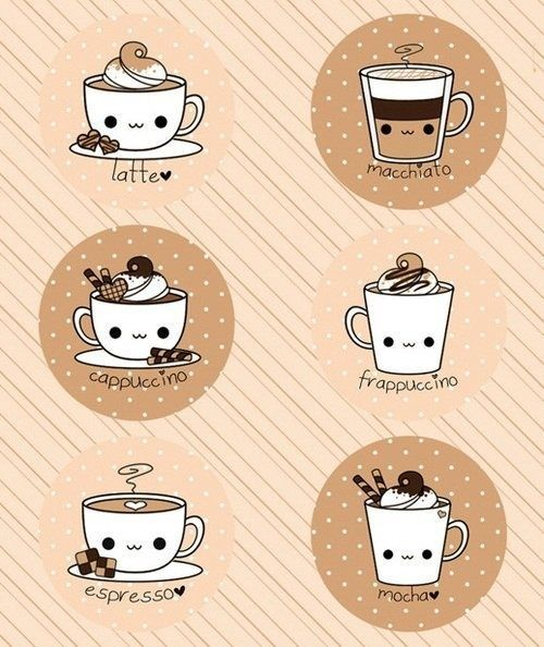 Bildergebnis Fur Dulces Kawaii Coffee Becher Cute Doodles Cute Drawings Kawaii Doodles