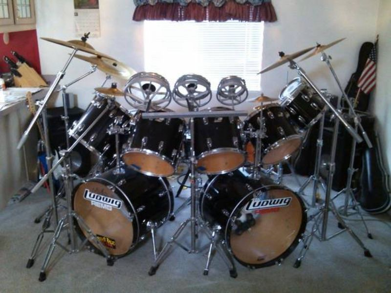 ludwig double bass drum set google search drums