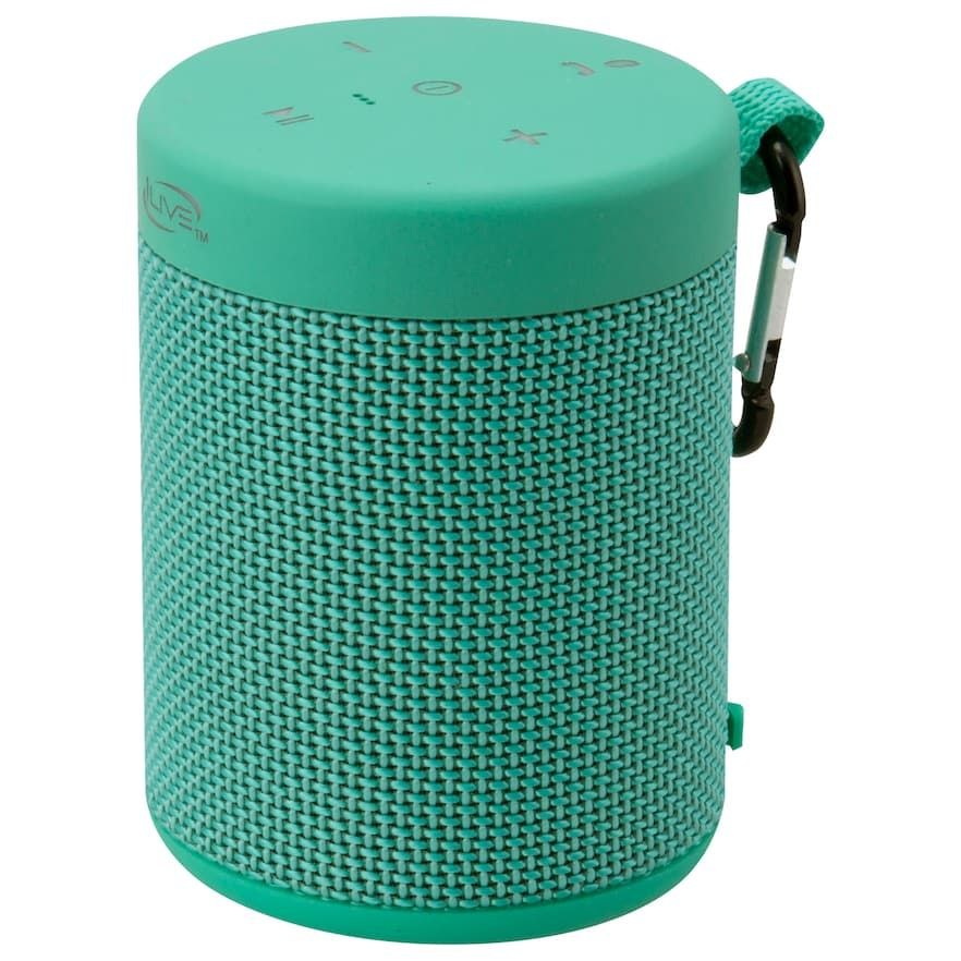 Ilive Bluetooth Wireless Waterproof Ipx5 Speaker Green Phone