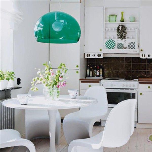 Suspension Kartell Fly jaune in 2019 | Kartell light | Kitchen ...