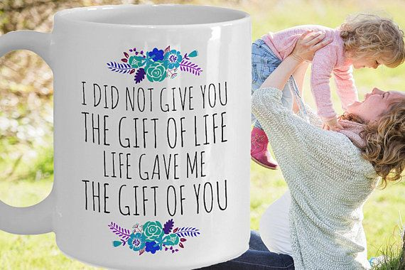 Mother Daughter Coffee Mug Birthday Gift To From Mom Life Gave Me The Of You Gifts For Her Under 20 Cup