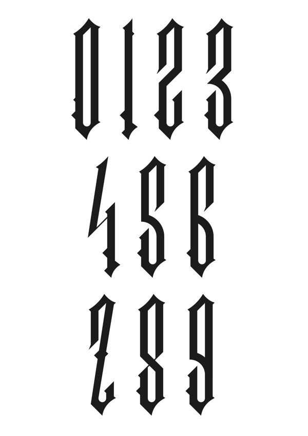0123456789 Letras Para Tatuajes Letras Graffiti Letras De Chicano