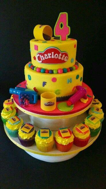 Playdoh cake