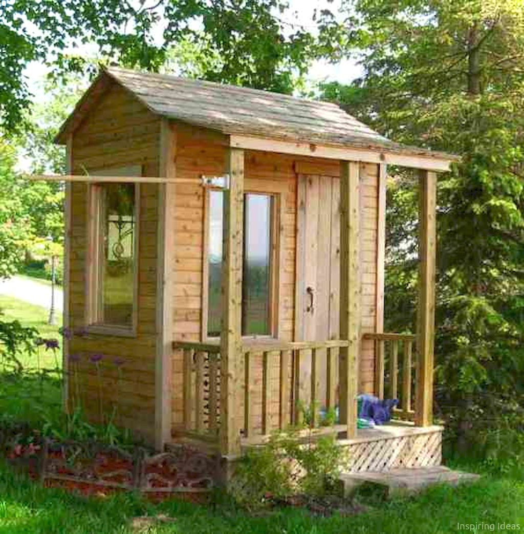 45 Affordable Garden Shed Plans Ideas for You | Garden landscaping ...