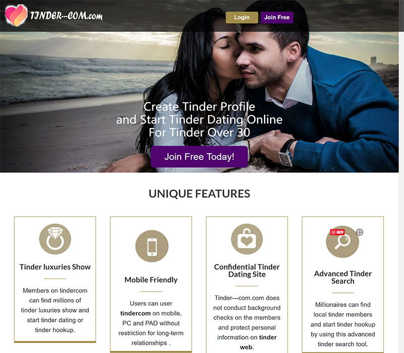 Millionaire dating site guide