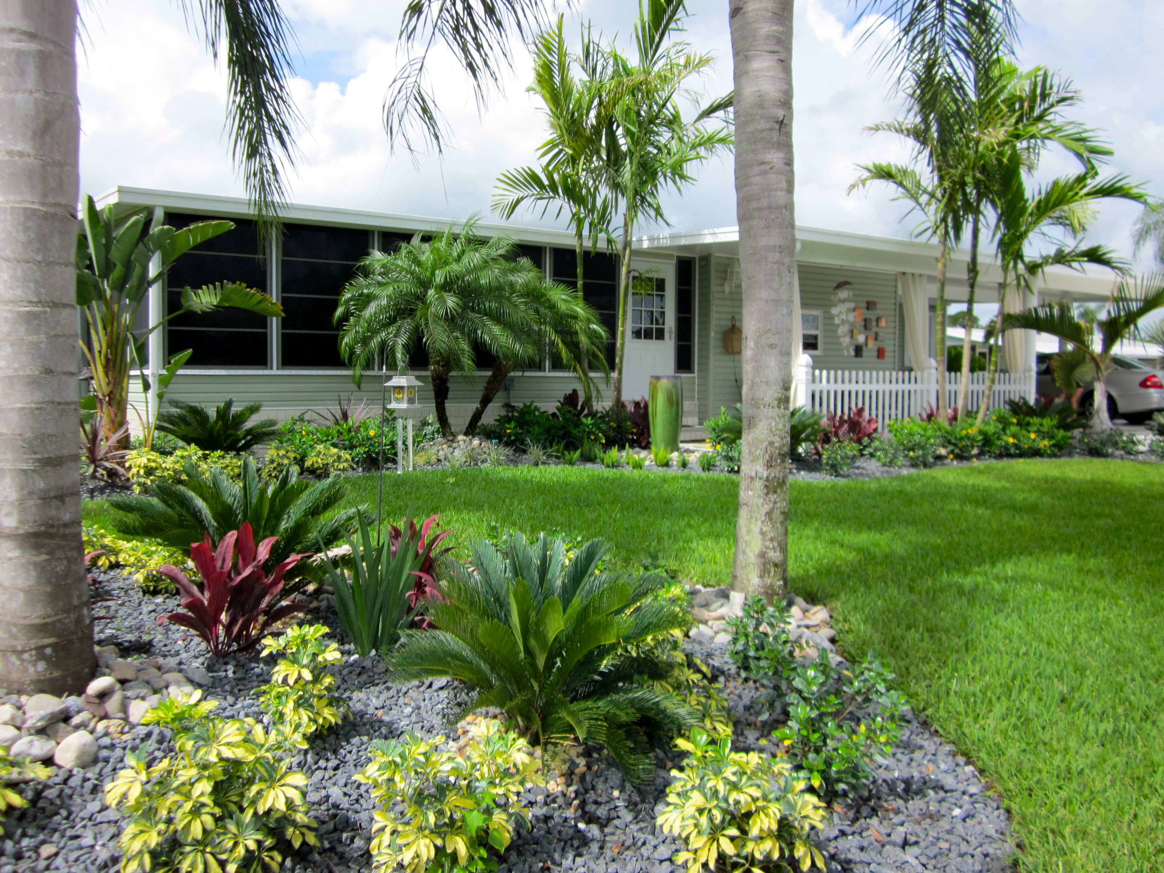 Ideas florida landscapes garden design ideas curb appeal Florida landscape design ideas