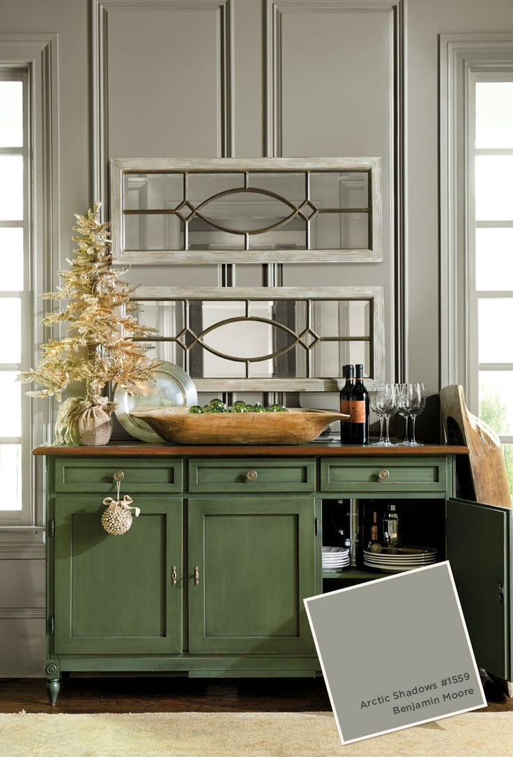 Luxury Benjamin Moore Deep Space Cabinets