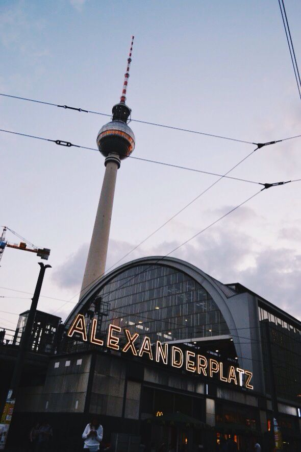 Alexanderplatz Berlin Germany With Images Berlin Tour Berlin City Berlin Germany