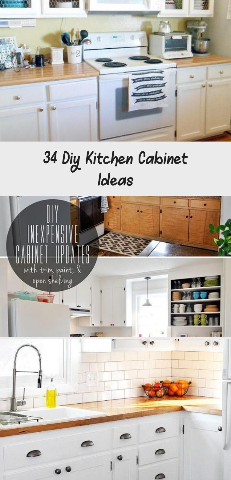 9 Diy Kitchen Cabinet Ideas   Pinokyocabinet diy ideas ...