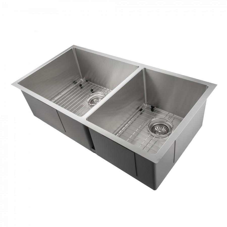 Zline 36 Undermount Double Bowl Sink In Stainless Steel Sr60d 36 Double Bowl Sink Sink Stainless Sink