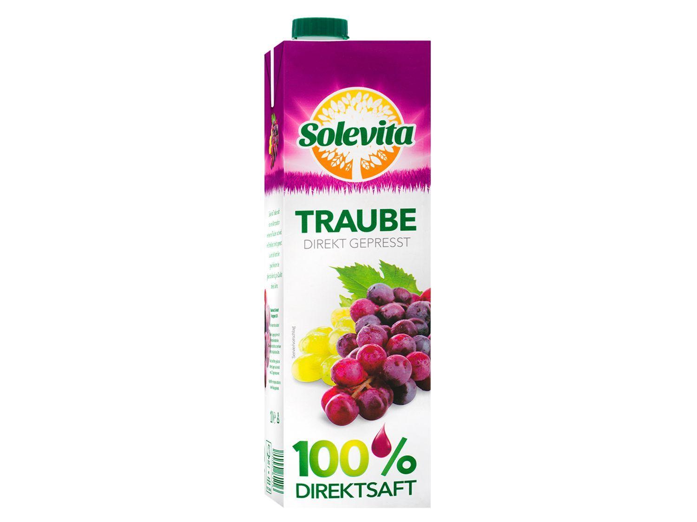 Solevita Traubensaft 1