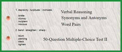 satprep #vocab #actprep Verbal Reasoning - Synonyms and