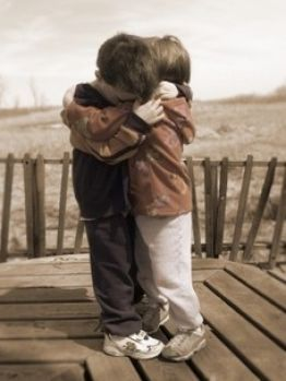 boys will be boys | Little boy and little girl hugging pictures 1