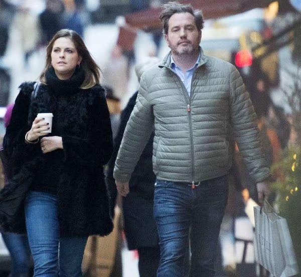 Princess Madeleine and Chris O'Neill at christmas shopping | Royal ...