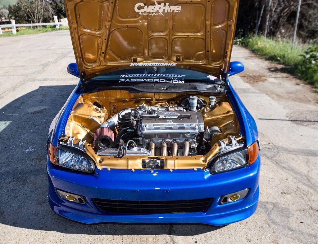 Clean civic engine bay jdm honda civic eg engine bay