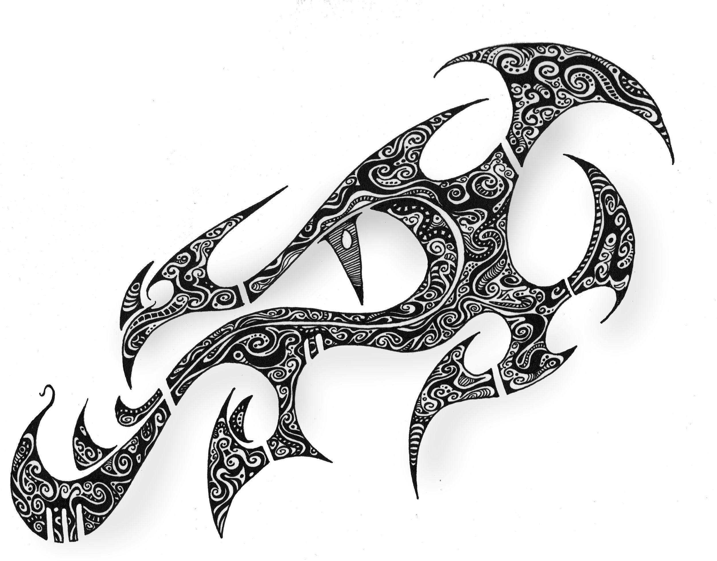 Dragon Eye Tattoo Armband tattoo design, Free tattoo