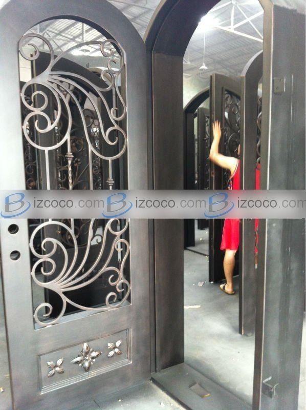 Sliding Door: Wrought Iron Sliding Door Hardware