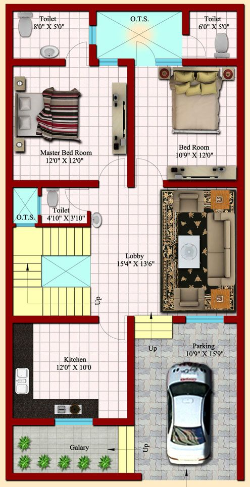25 X 50 3d House Plans With Sharma Property 19953 Design Ideas Duplex House Design 30x50 House Plans 3d House Plans
