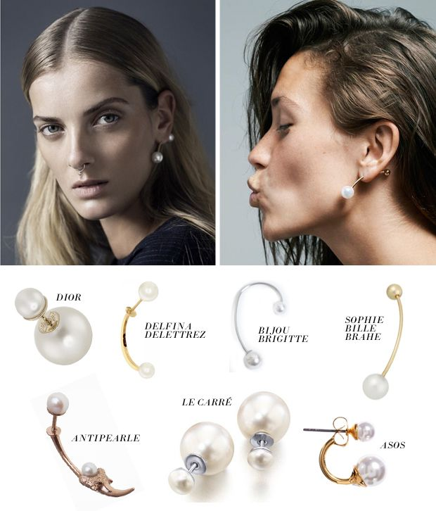Trend Report The Double Pearl Earring