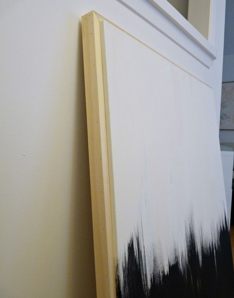 Dans le Townhouse: Reader Q: DIY Frame + Fix a Warped Canvas