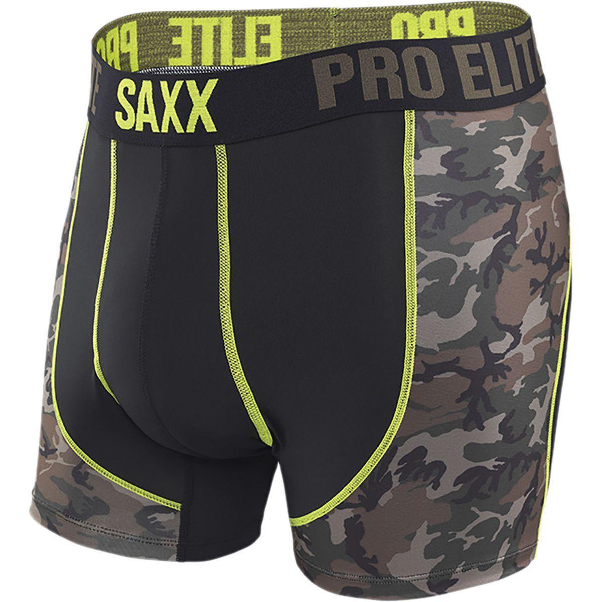 Saxx Underwear Mens Pro Elite 2.0 Boxer Modern Fit