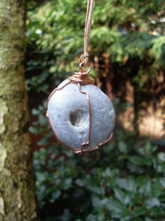 5f2e474aeee6 Hag Stone Talisman of protection Goddess by TheCaterpillarQueen Pagan Witch,  Wiccan, Witchcraft, Magick