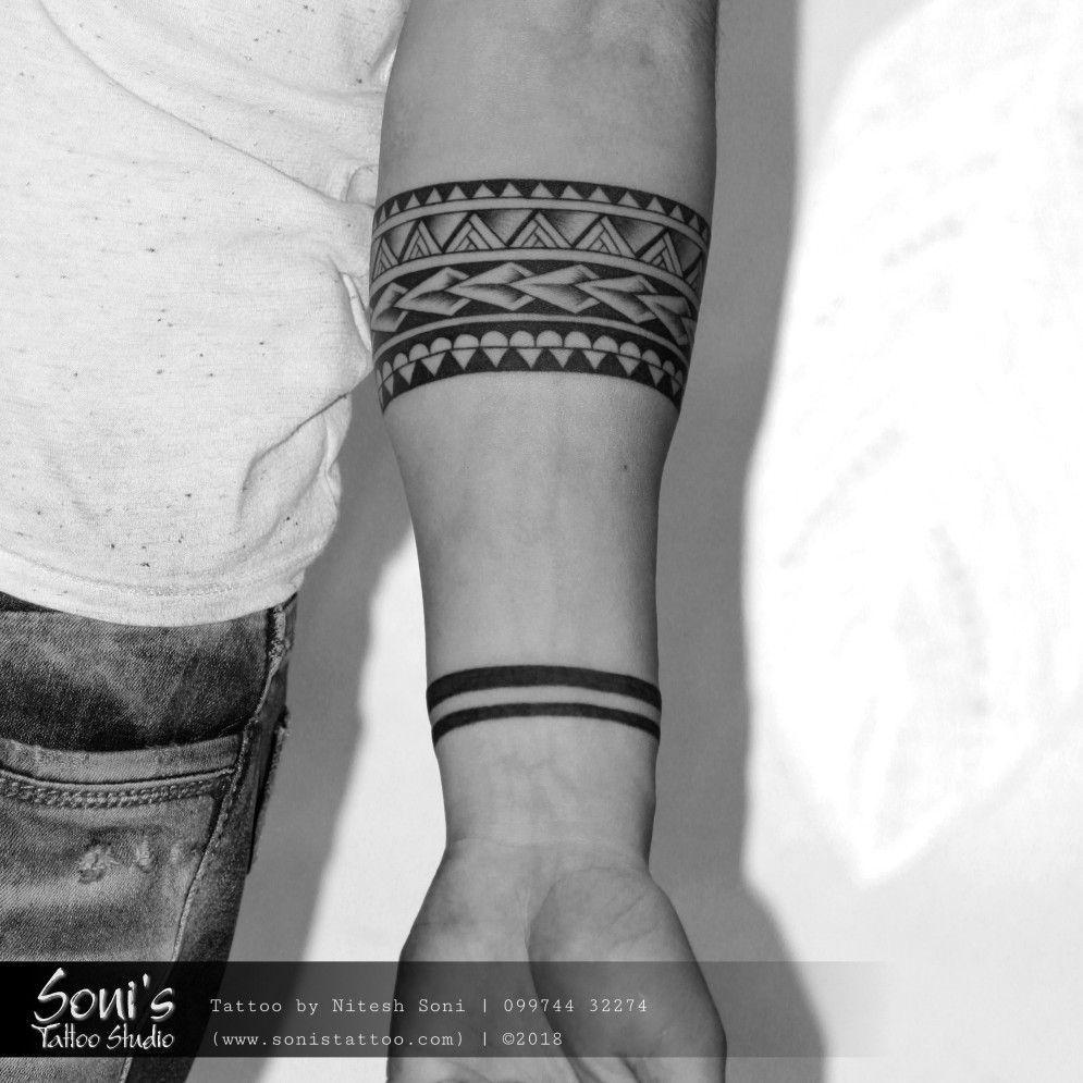 Maori Armband Tattoo Soni S Tattoo Studio 09974432274 Www Sonistattoo Com Son Forearm Band Tattoos Tribal Armband Tattoo Band Tattoo Designs
