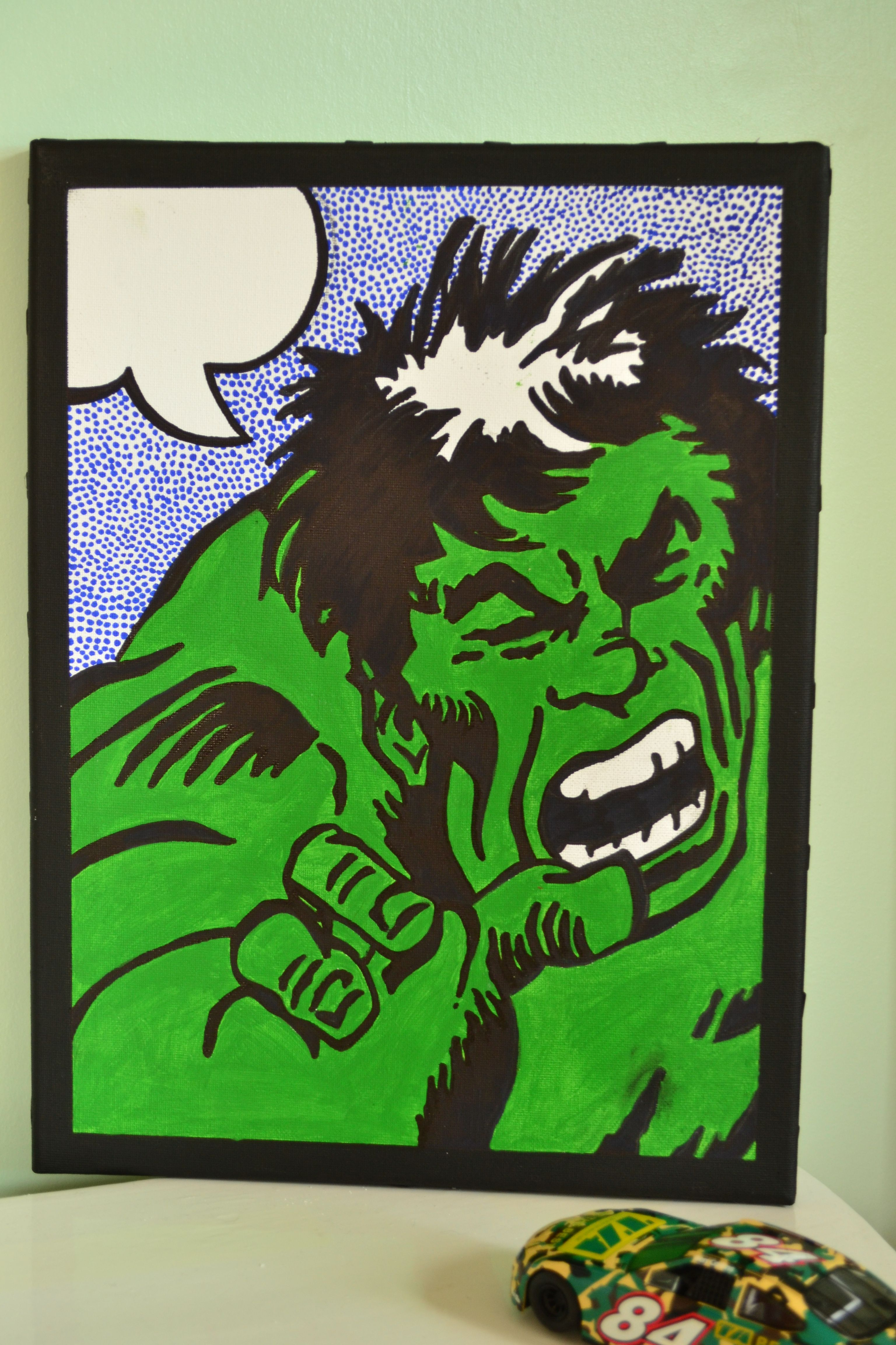 Hulk Selfie Speech Bubble Can Be Personalised With Your Words